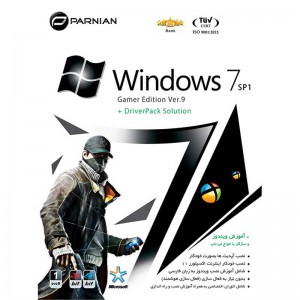 Windows 7 SP1 Gamer + DriverPack Solution Ver.9 1DVD9 پرنیان