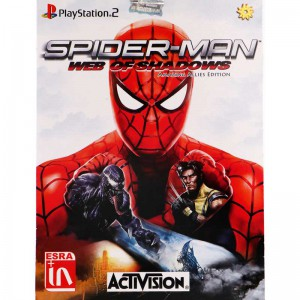 SpiderMan Web of Shadow PS2 لوح زرین