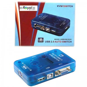 سوییچ KVM Switch 2Port USB Auto
