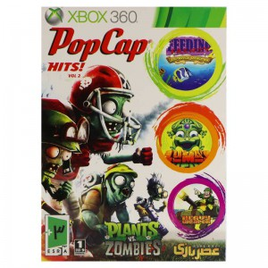 Pop Caps: Hits XBOX 360 عصر بازی