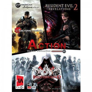 Action Games Collection 10 2DVD9 پرنیان