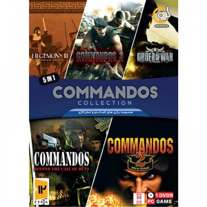 Commandos Game Collection PC 1DVD