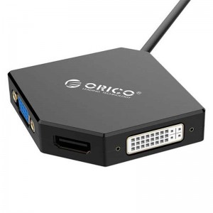 تبدیل Orico DMP-HDV3 Mini Display to HDMI/DVI/VGA