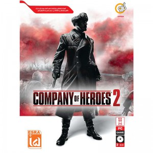 Company Of Heroes 2 PC 3DVD گردو