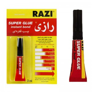 چسب قطره ای ۳ml Razi Super glue