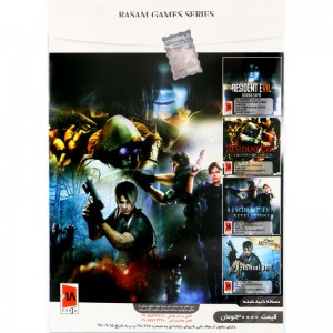 RESIDENT EVIL Collection PC 4DVD9