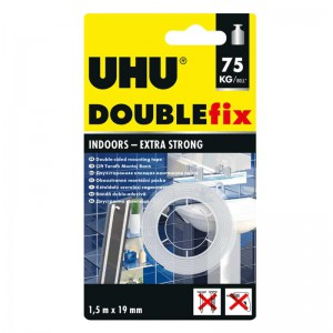 چسب دو طرفه UHU double fix 75