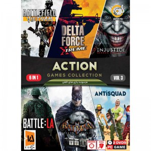 ACTION GAME COLLECTION Vol.3 PC 2DVD9 گردو