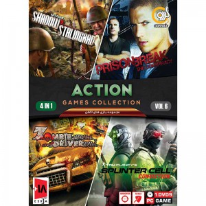 ACTION GAME COLLECTION Vol.6 PC 1DVD9 گردو