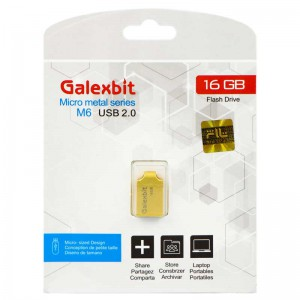 فلش Galexbit Micro metal series M6 16GB