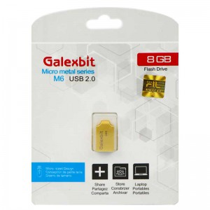 فلش Galexbit Micro metal series M6 8GB