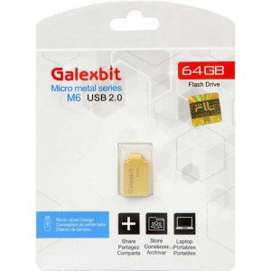 فلش Galexbit Micro metal series M6 64GB