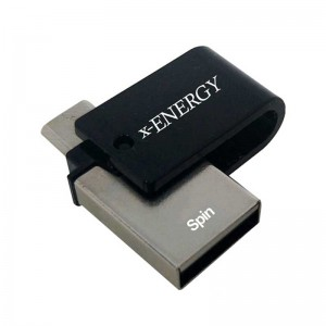 فلش X-Energy SPIN 16GB OTG