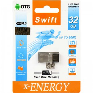 فلش X-Energy Swift 32GB OTG USB3.0