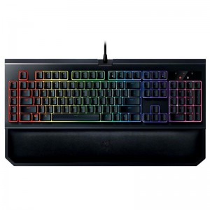 کیبورد گیمینگ ریزر RAZER Blackwidow Chroma V2.0 Green Switch