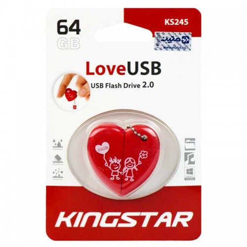 فلش Kingstar LoveUSB KS245 64GB