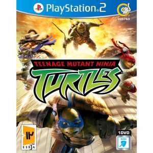 TEENAGE MUTANT NINJA TURTLES PS2 1DVD5 گردو