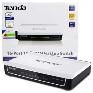 سوییچ 16 پورت Tenda S16 16Port Desktop Switch