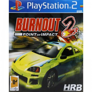 BURNOUT 2 POINT OF IMPACT HRB PS2