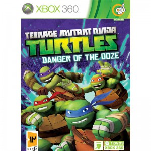 Teenage Mutant Ninja Turtles Danger of The Ooze Xbox 360 گردو