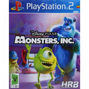 MONSTERS INC HRB PS2