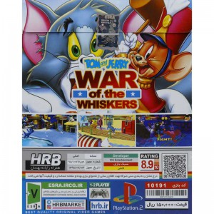 TOM AND JERRY WHISKERS PS2
