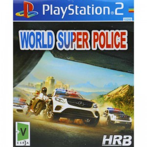 WORLD SUPER POLICE HRB PS2
