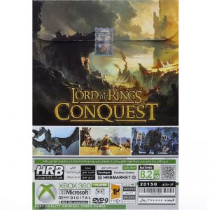 Lord Of The Ring Conquest XBOX 360 HRB 1DVD9
