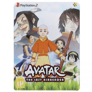 Avatar The Last Airbender PS2 لوح زرین