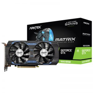 کارت گرافیک گیمینگ ARKTEK Matrix GT1660 Super 6GB GDDR6 192bit
