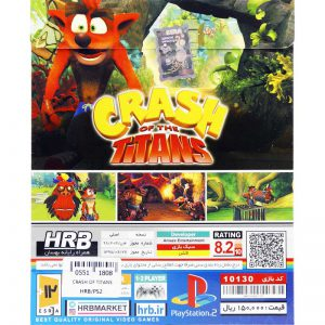 Crash Of The Titans HRB PS2
