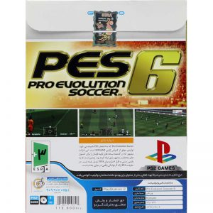 PES 6 PRO Evolution Soccer PS2 گردو