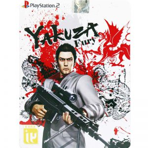 Yakuza Fury PS2 لوح زرین