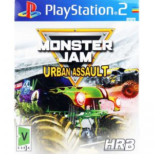 MONSTER JAM URBAN ASSAULT HRB PS2