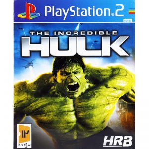 The Incredible HULK HRB PS2