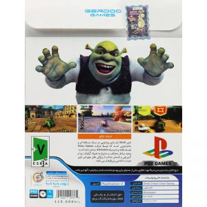 Shrek Smash Crash Racing PS2 گردو