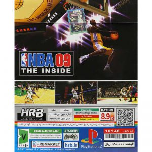 NBA 09 The Inside PS2 HRB