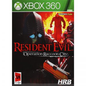 Resident Evil Operation Raccoon City Xbox 360 HRB