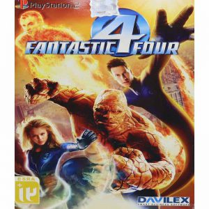 Fantastic Four PS2 لوح زرین