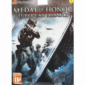 Medal Of Honor European Assault PS2 لوح زرین