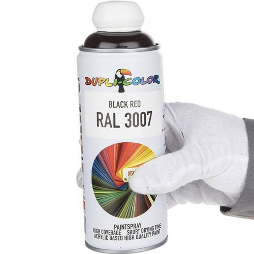 Dupli-Color 400ml RAL 3007 Black Red Paint Spray