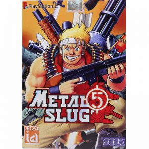 Metal Slug 5 PS2 لوح زرین