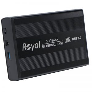 باکس هارد رویال Royal RH-3531 3.5-inch USB3.0 HDD + آداپتور