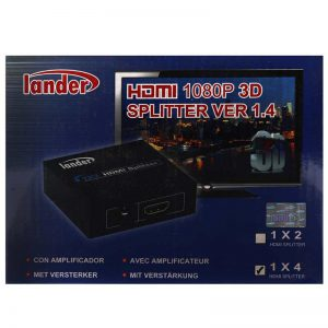 اسپلیتر LANDER SP-14 HDMI 4Port