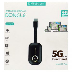 دانگل MiraScreen G9 Plus Wireless 4K HDMI