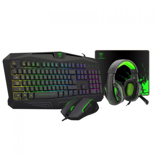 T-DAGGER T-TGS003 Wired mouse and keyboard With Headset (1)